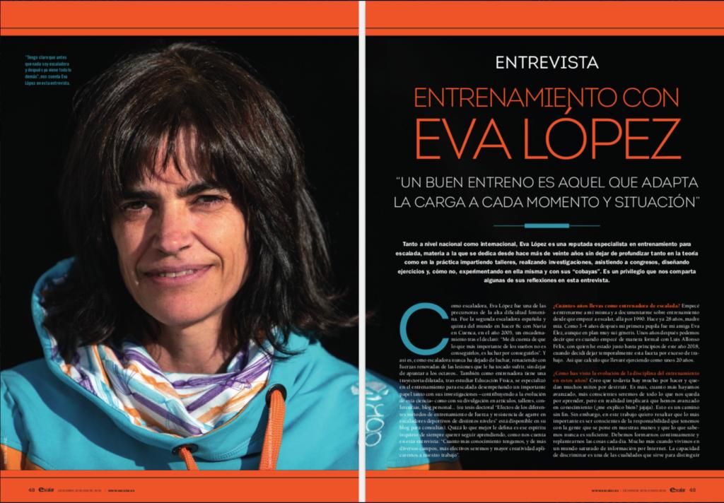 Eva López, coaching, coach, climbing, escalada, Klettern, grimper, arrampicata
